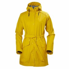 Helly Hansen W Kirkwall Rain Coat Yellow Medium
