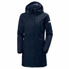 Helly Hansen W Aden Long Coat (Navy) Small