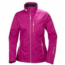 Helly Hansen W Crew Jacket (Pink) XS