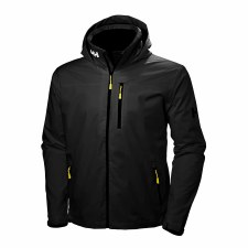 Helly Hansen Crew Hooded Midlayer (Black) Medium