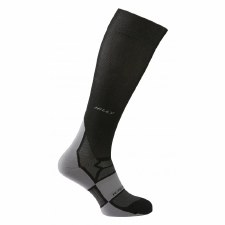 Hilly Pulse Compression Sock (Black Grey) Small