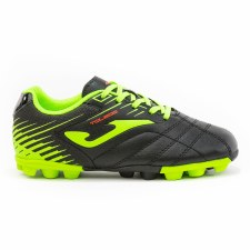 Joma Toledo Junior Football Boots (Black Flo Yellow) 10