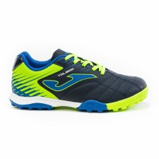 Joma Toledo Junior TF Astro Turf (Navy Blue Lime) 10