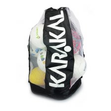Karakal Ball Bag 12-15 Balls (Black Green or Black White)