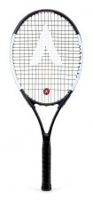 Karakal Comp 27 Tennis Racket (Black White) Grip 1