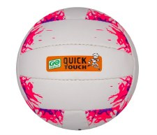 Karakal Go Games Quick Touch Football (White Pink) Age Under 10