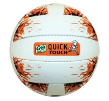 Karakal Go Games Quick Touch Football (White Orange) Age Under 10