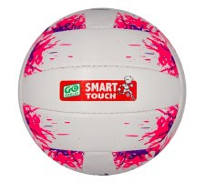 Karakal Go Games Smart Touch Football (White Pink) Age Under 12
