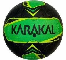 Karakal Street Ball (Black Lime Flo Yellow) Size 5