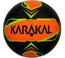 Karakal Street Ball (Black Orange Flo Yellow) Size 5
