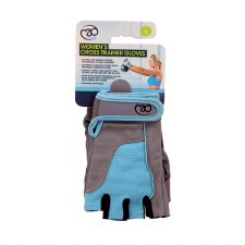 Fitness Mad Womens Cross Training Glove (Grey Blue) Small
