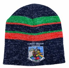 CS KIB Beanie Hat (Melange Navy Green Red) One Size