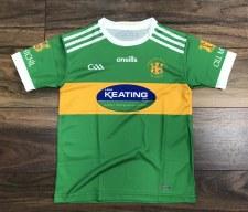 O'Neills Kilmihil Home Jersey (Green Amber) 7-8