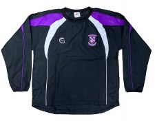 CS Kilrush RFC Training Jacket (Black Purple White) 5-6