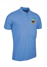 Glemmuir Kilrush Golf Club Mens Polo (Sky Blue) Small