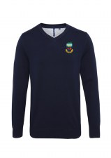 Asquith & Fox Kilrush Golf Club Mens V Neck Jumper (Navy) Small