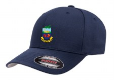 Flexfit Kilrush Golf Club Peaked Hat (Navy) Small - Medium