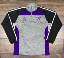 CS Kilrush RFC Half Zip (Melange Grey Purple Black White) 7-8