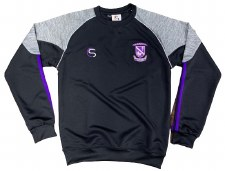 CS Kilrush RFC Sweat (Black Marl Grey Purple White) 7-8