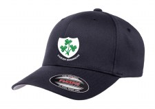 Flexfit Kilrush Shamrocks Peaked Hat (Dark Navy) Small-Medium