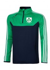 O'Neills Kilrush Shamrocks Kasey Half Zip (Navy Melange Green White) 5-6