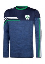 O'Neills Kilrush Shamrocks Nevis Sweat (Melange Navy Green White) 13-14