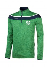 O'Neills Kilrush Shamrocks Slaney Half Zip (Green Navy White) 5-6