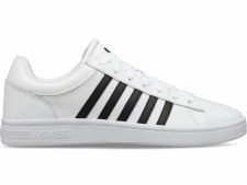 K Swiss Court Winston (White Black) 6