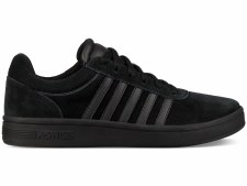 K Swiss Court Cheswick Suede Womens (Black Black) 3
