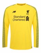 New Balance Liverpool Home Goalkeeper Kids 2018/19 (Yellow Black) XLB