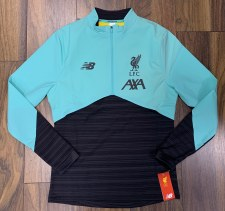 New Balance Liverpool 1/2 Zip Vector Speed Top Adults 2019/2020 (Mint Green Marl Grey) Small