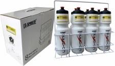 LS 8 Bottle Wire Carrier & Bottles (Coronavirus Label)