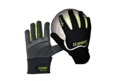 LS Sportif Famous Gaelic Glove (Black Lime) Extra Small Boys