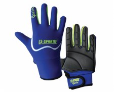 LS Sportif Famous Gaelic Glove (Royal Lime) Small Boys