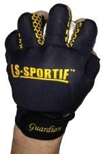 LS Guardian Hurling Glove L/H (Black Gold) SJ