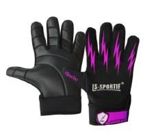 LS Sportif Lightning Gaelic Glove (Black Pink)