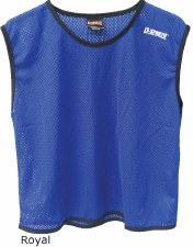 LS Mesh Bib Large Boys Blue