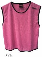 LS Mesh Bib Large Girls Pink