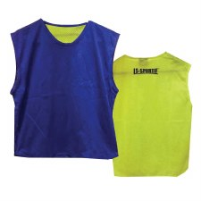 LS Reversible Junior Training Bib (Royal Yellow)
