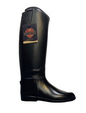 Equisential Seskin Tall Boot Kids (Black) 13