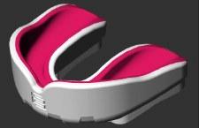 Makura Ignis Gel Mouthguard SNR (Pink/White)
