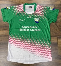 Masita Kilrush Ladies Jersey Green White Pink) 5-6