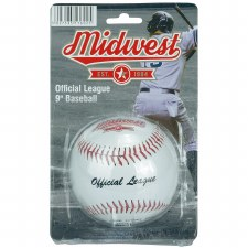 "Midwest Baseball Ball (White) 9"""