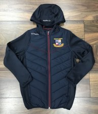 O'Neills Miltown Holland Padded Jacket (Navy Maroon) Age 10-11