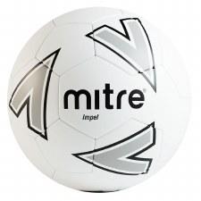 Mitre Impel Training Ball (White Grey Black) 4
