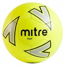 Mitre Impel Training Ball (Yellow Grey Black) 4