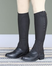 Shires Moretta Amara Childs Half Chaps (Black) Small