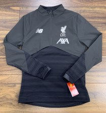 New Balance Liverpool 1/2 Zip Adults VS Top 2019/2020 (Dark Grey) Large