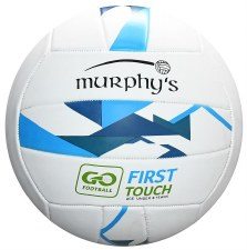 Murphys First Touch Football (White Blue)