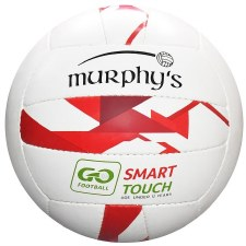 Murphys Smart Touch Football (White Red)
